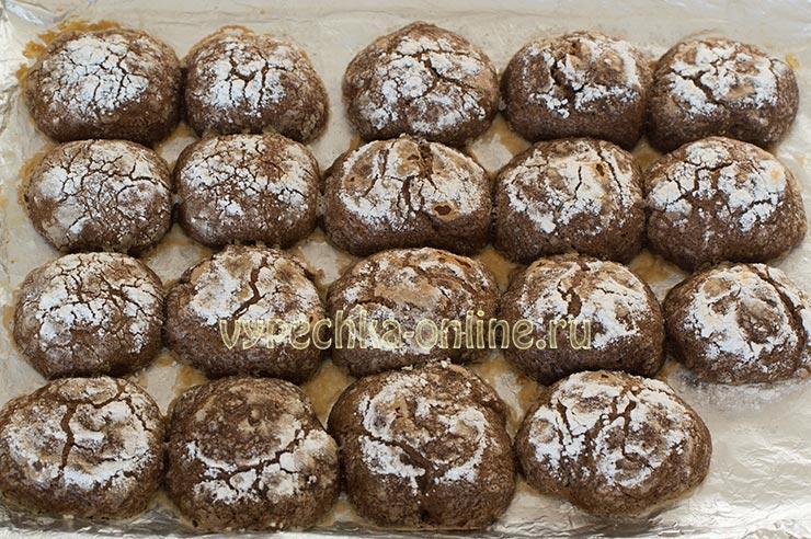 Печенье с трещинами