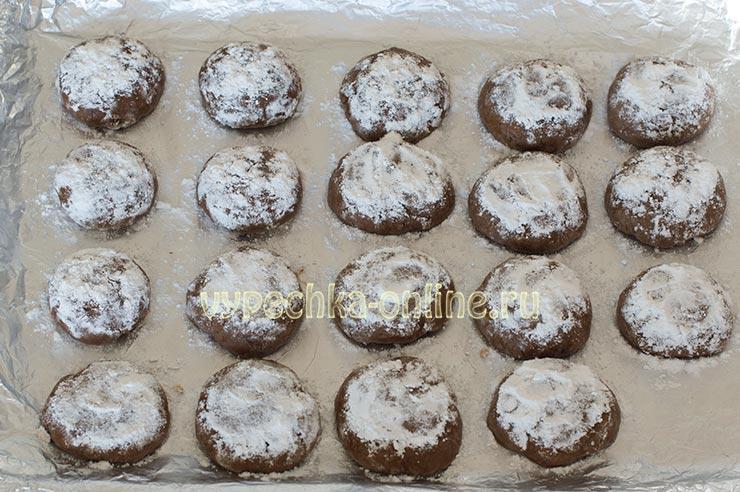 Рецепт печенья с трещинками