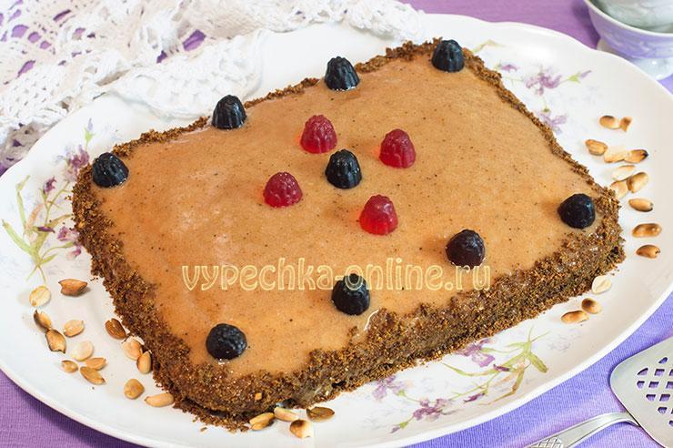 Постный торт рецепт в домашних условиях