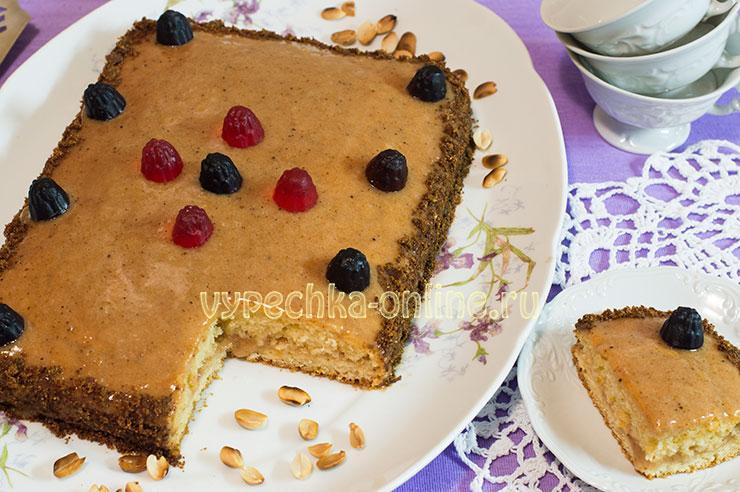 Простой постный торт рецепт в домашних условиях