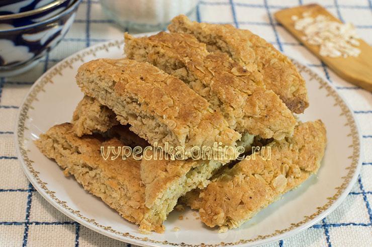 Хаврекакур шведское овсяное печенье