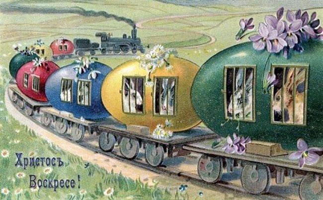 Старинные пасхальные открытки фото