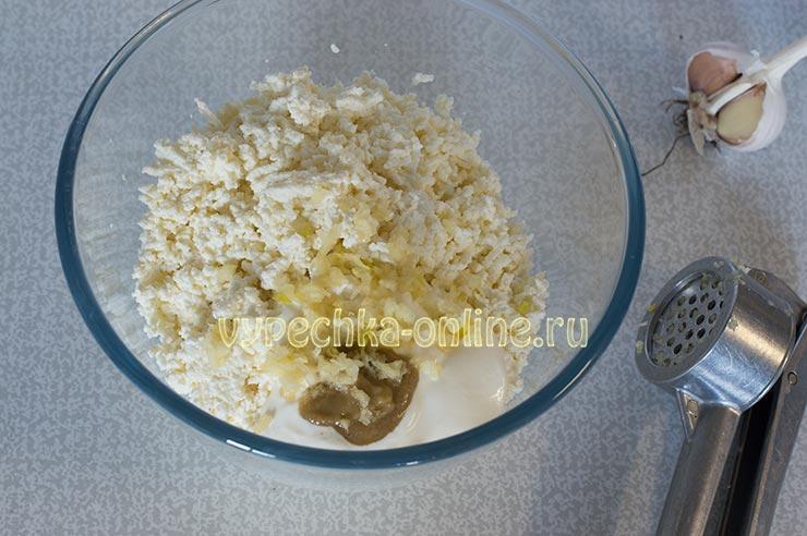 Как приготовить начинку из творога для блинов