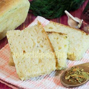 Белый хлеб в духовке в домашних условиях
