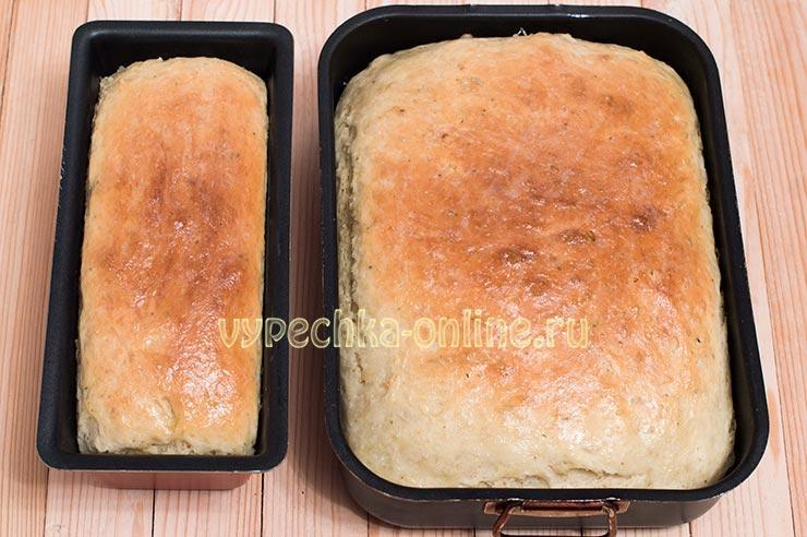 Как испечь белый хлеб в духовке в домашних условиях