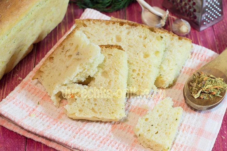 Сдобный хлеб в духовке