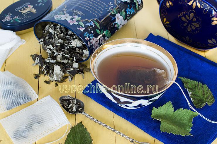 Ферментация листьев малины в домашних условиях