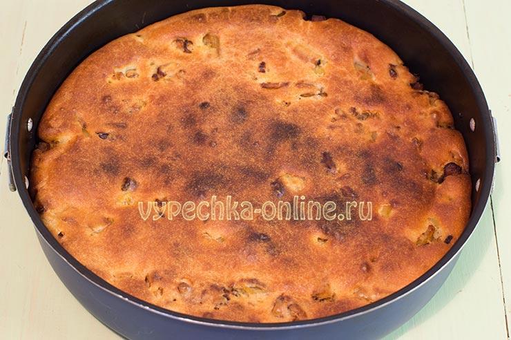 Заливной пирог с курицей и картошкой в духовке пошаговый рецепт с фото