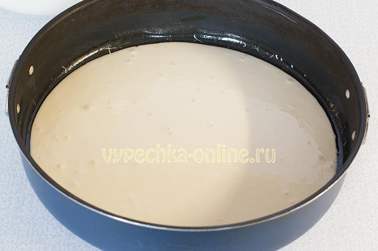 Тесто для заливного пирога