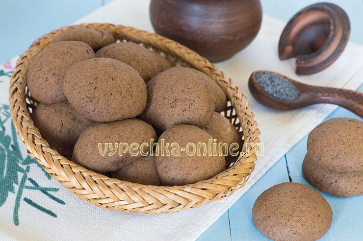 Рецепт домашнего печенья в духовке на маргарине