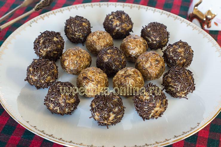 Десерт из овсяных хлопьев