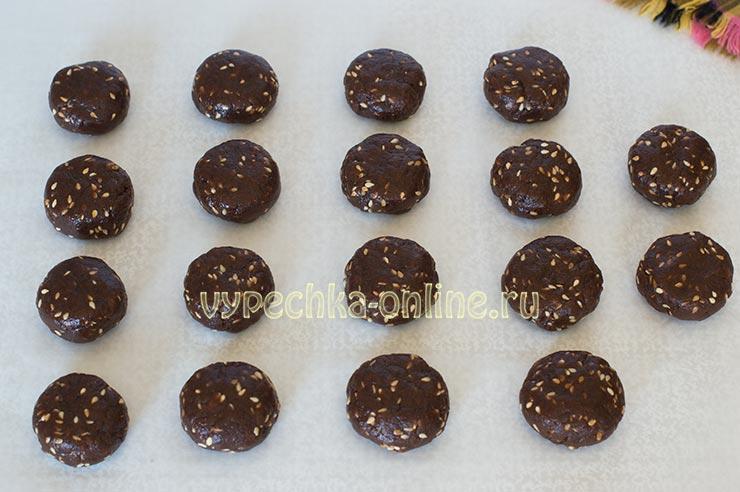 Печенье на подсолнечном масле