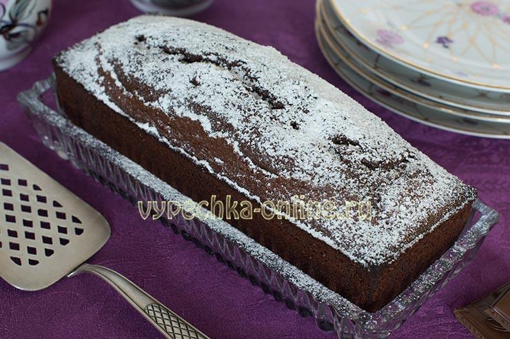 Шоколадный кекс на рисовой муке