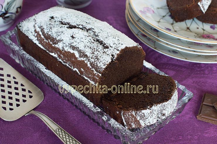 Кекс на рисовой муке и молоке в духовке, шоколадный – рецепт с фото