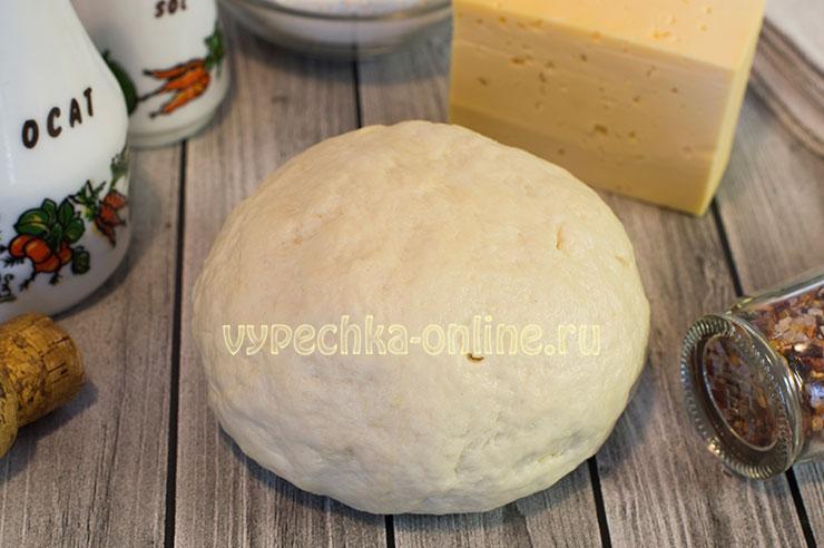 Тесто для пиццы на кефире без яиц