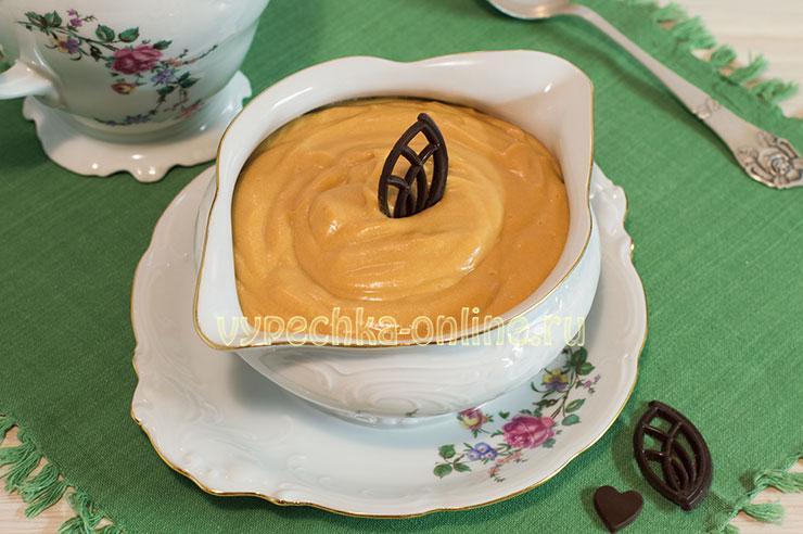 Крем из варёной сгущёнки для бисквитного торта