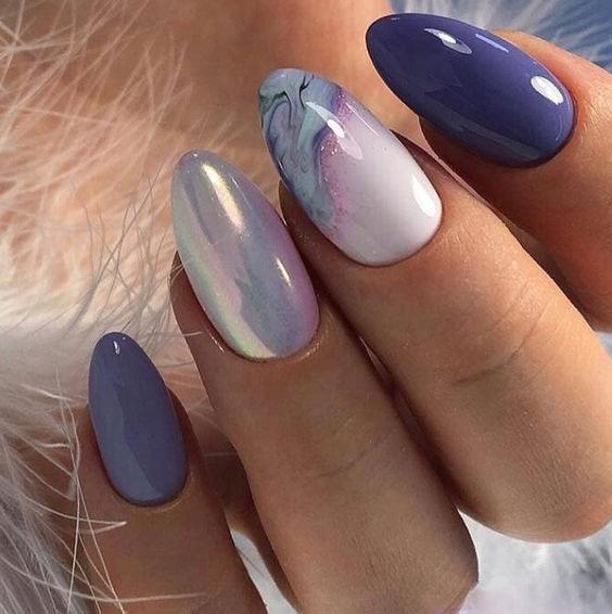 Омбре красивые ногти