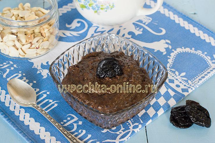 Постные рецепты с черносливом