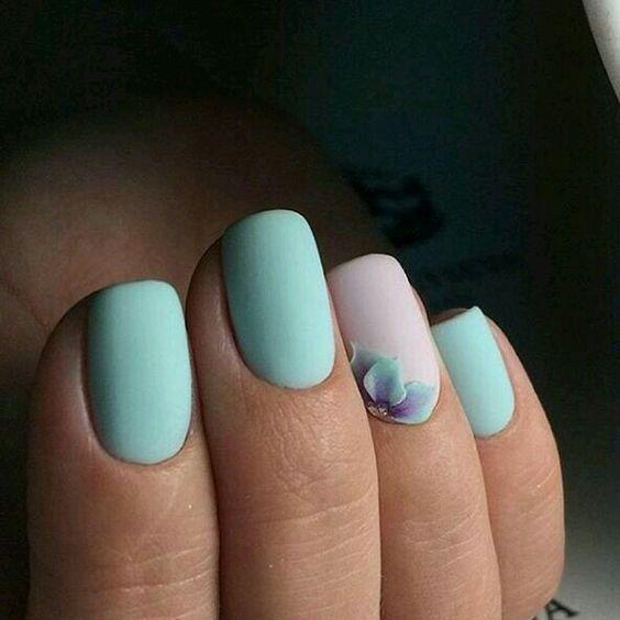 Ногти лепка цветка