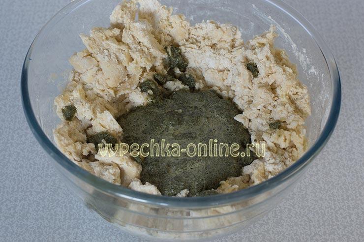 Рецепт печенья с мятой