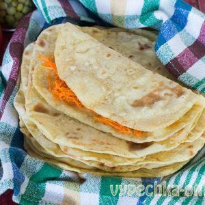 Мексиканская тортилья – кукурузная лепешка на сковороде, рецепт с фото в домашних условиях