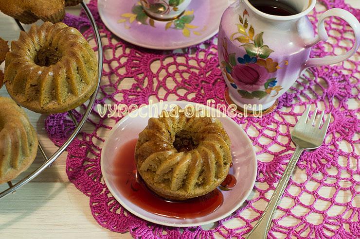 Бисквитные кексы рецепт