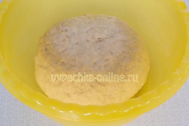 Дрожжевое тесто на ряженке