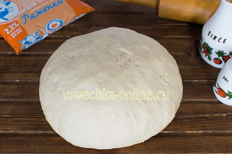 Тесто на ряженке для пирожков