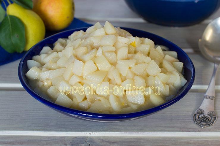 Начинка из груши для пирожков рецепт с фото