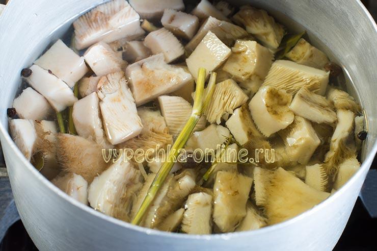 Грузди маринованные на зиму рецепт