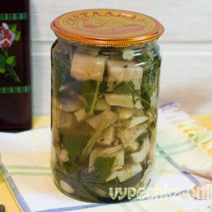 Грузди маринованные на зиму рецепт приготовления горячим способом с фото