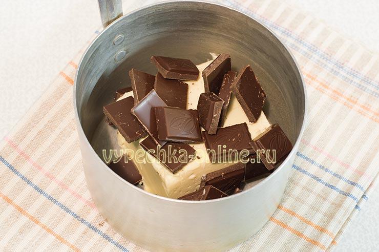 Масло, шоколад