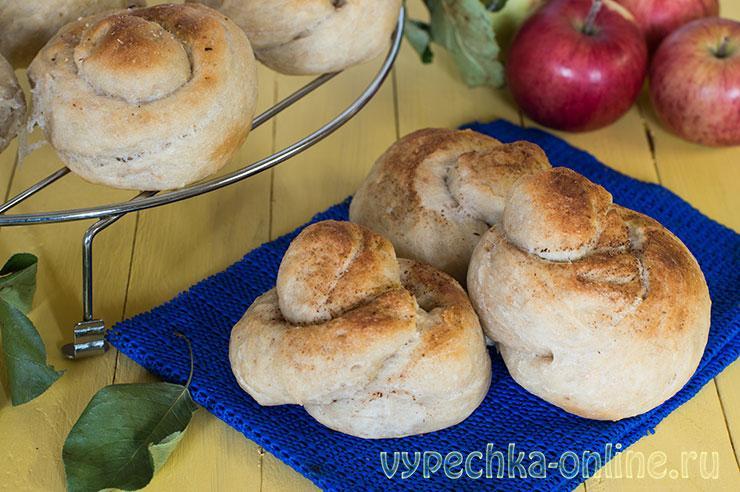 Постные булочки на дрожжах мягкие и вкусные - рецепт с фото пошагово в духовке