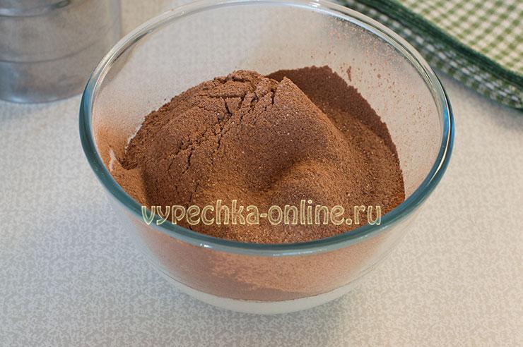 Шоколадный крем на сливках