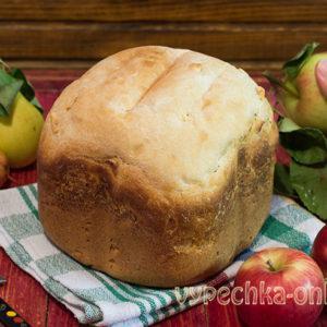 Сладкий хлеб в хлебопечке – рецепт с яблоками