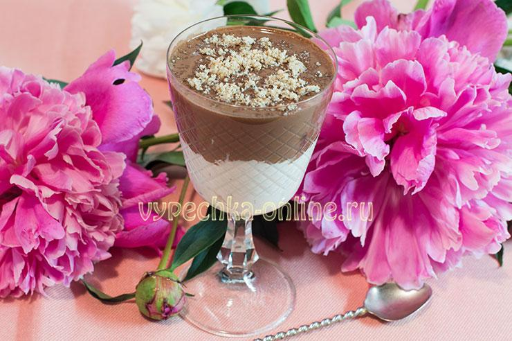 Десерт из творога без выпечки в домашних условиях