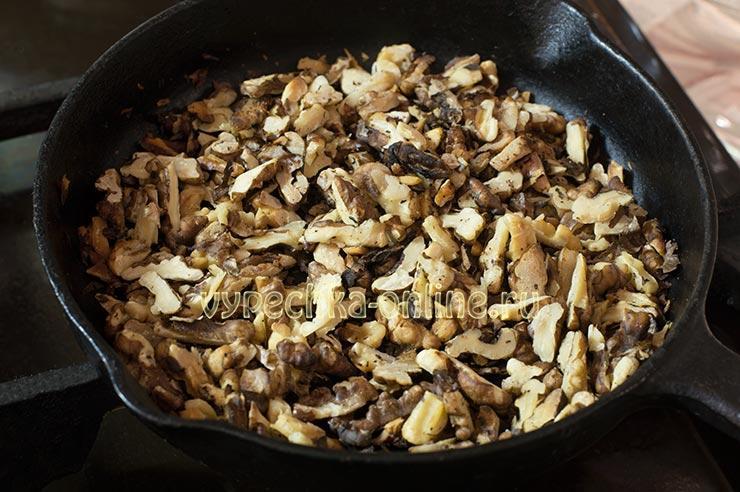Грецкие орехи прокалить