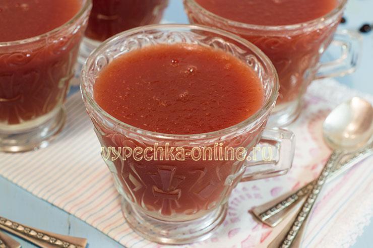 Десерт из арбуза рецепт