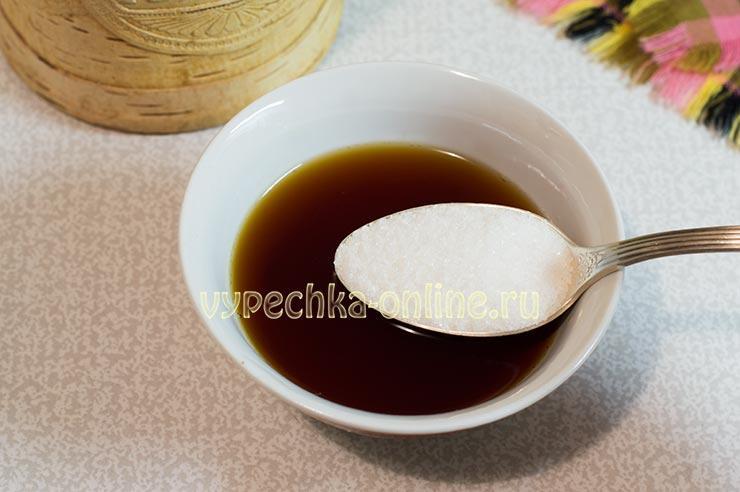 Сладкий чай для смазки