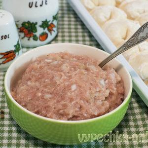 Домашний фарш для пельменей из свинины сочный и вкусный - рецепт с фото пошагово