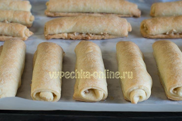 Татарская выпечка печенье Бармак
