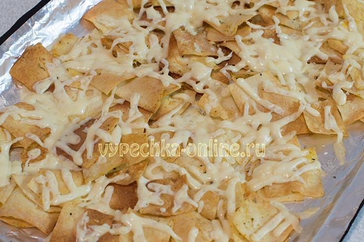 Как приготовить чипсы из лаваша в духовке