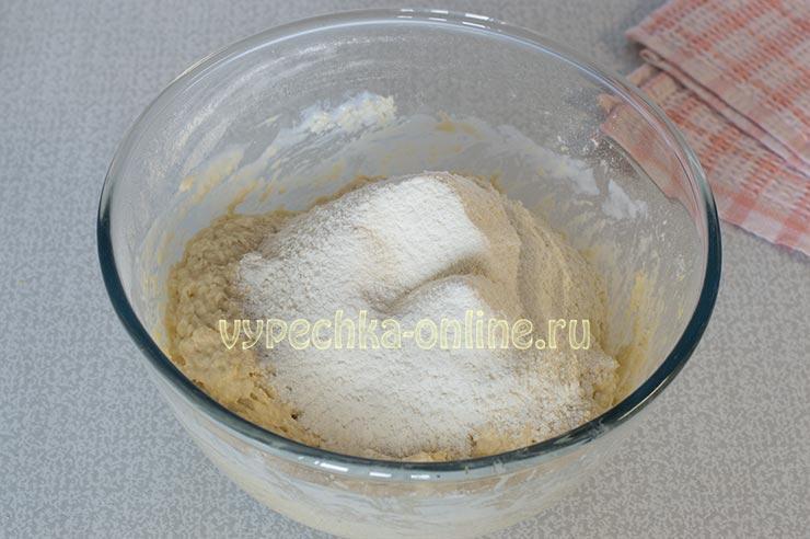 Домашнее печенье на простокваше