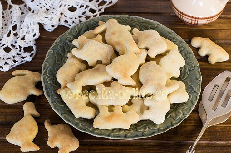 Печенье на простокваше простое и вкусное в духовке – рецепт с фото пошагово