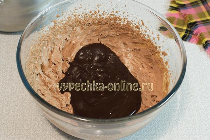 Крем с маскарпоне шоколадный