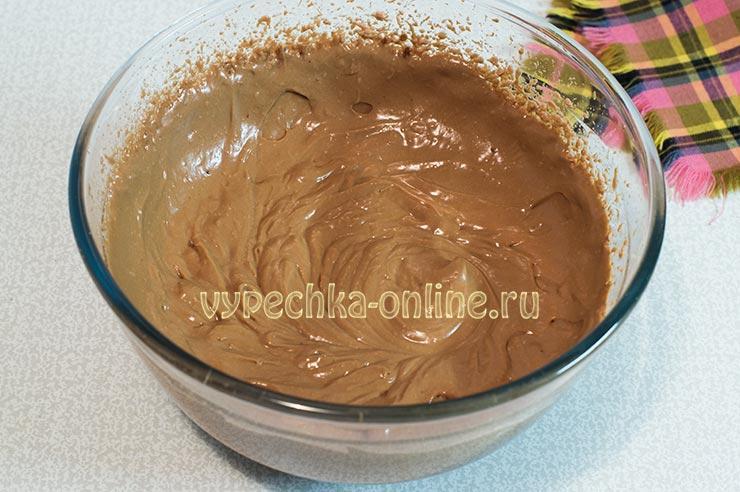 Крем из маскарпоне шоколадный