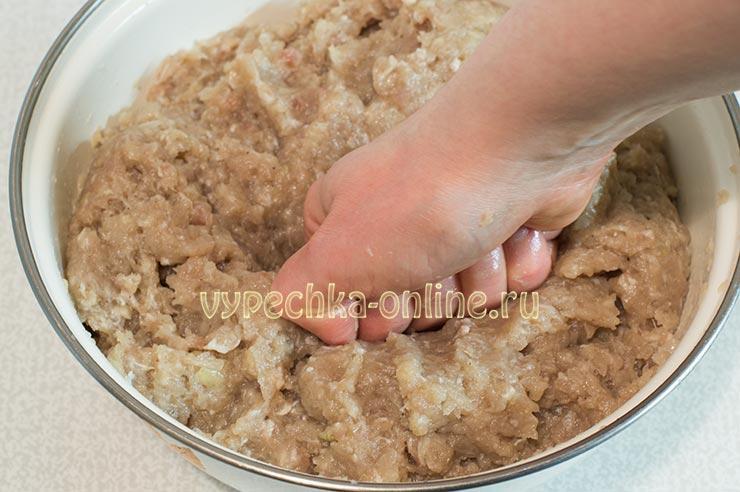 Рецепт домашнего фарша для пельменей из свинины