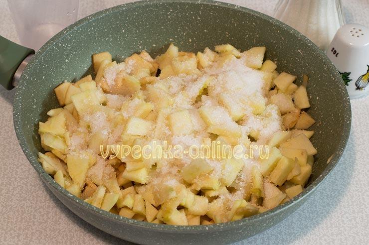 Яблоки, сахар, вода, соль
