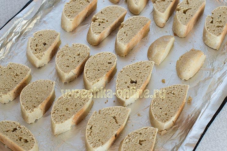 Итальянские сухарики бискотти