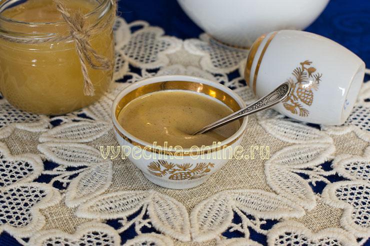 Медовая горчица на молоке в домашних условиях рецепт с фото
